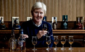 Ann Miller - international brand ambassador for Chivas Brothers and is also one of the directors of the SSWF