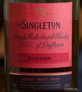 Der Singleton of Dufftown - Tailfire