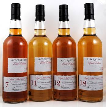 39. Bottling von A.D.Rattray in der Cask Collection