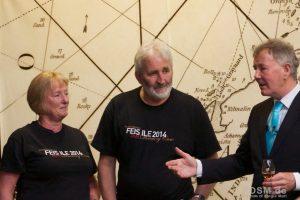 Jim mit Duncan und seiner Frau