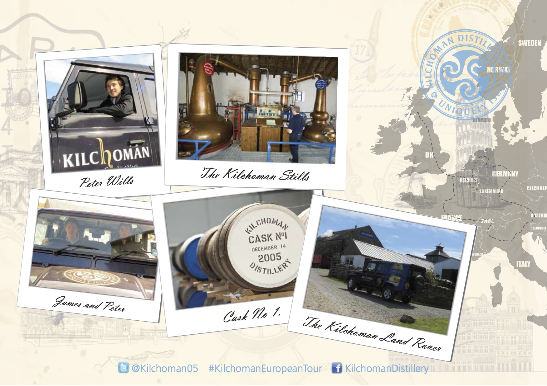 Kilchoman Europa Tour 2014, Foto: Alba Import