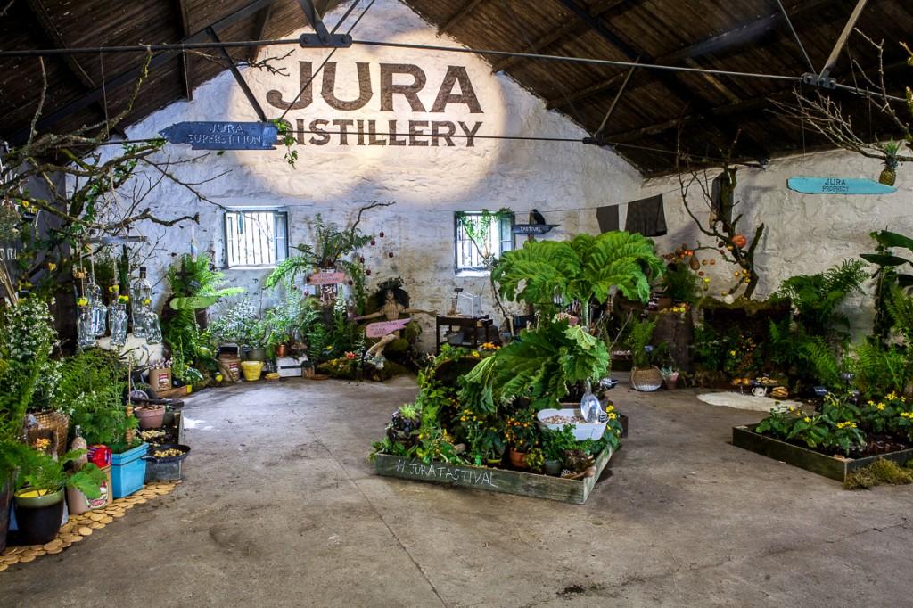 Der Tastival Garten, (c) Jura Distillery