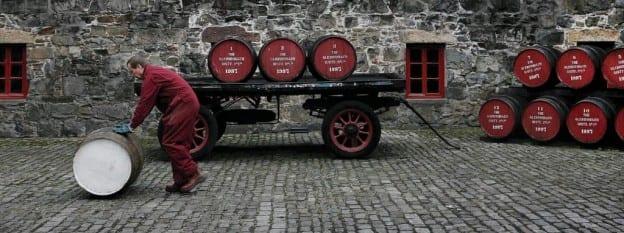 Fässer Glen Dronach