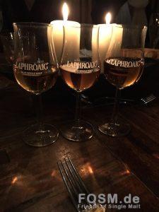Whisky bei Kerzenlicht