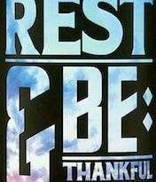 Rest and Be Thankful Logo