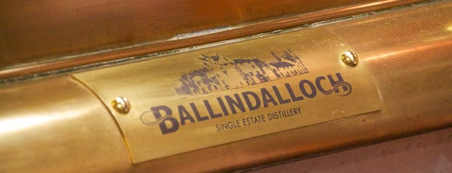 Ballindalloch Distillery - Spirit Safe