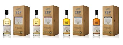 Vier XOP von Douglas Laing