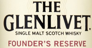 Glenlivet Founders Reserve Label