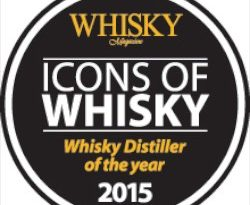 Distiller of the year 2015 by Whisky Magazine