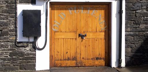 Lagerhaus Tür