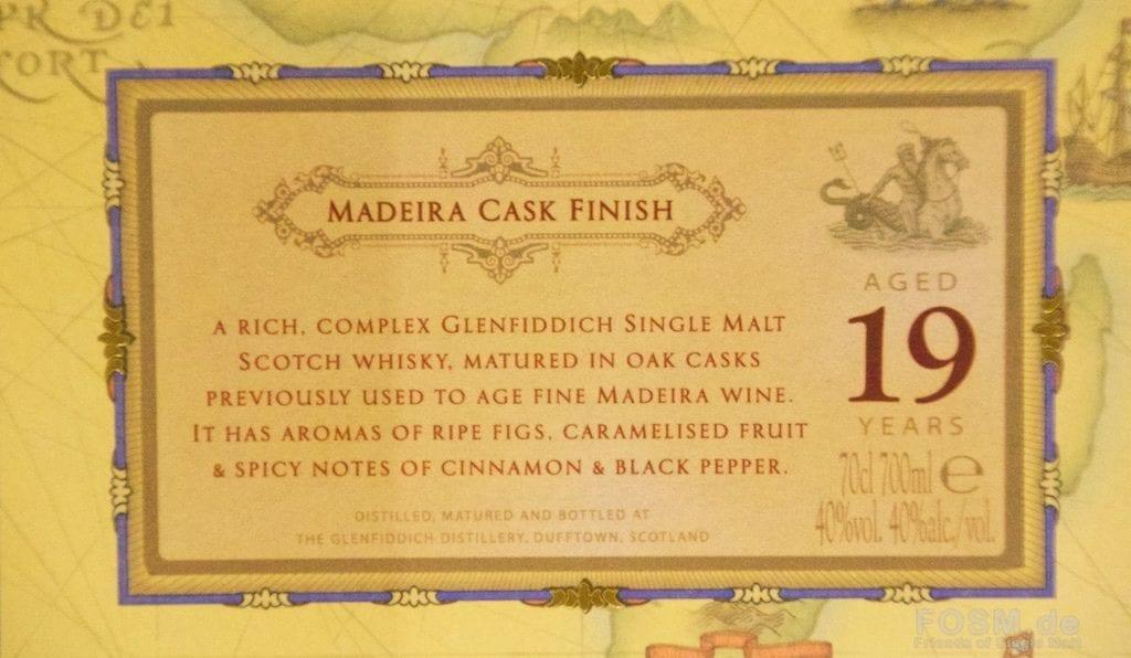 Glenfiddich mit Madeira Finish