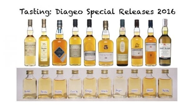 Diageo Special Releases 2016 - Tasting