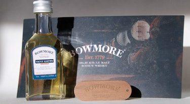 Tasting Bowmore Vaults