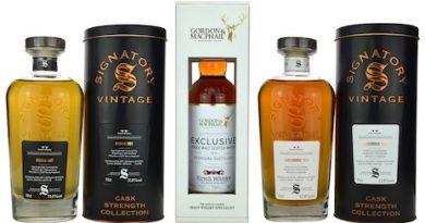 Jubiläumsabfüllungen von Kirsch Whisky