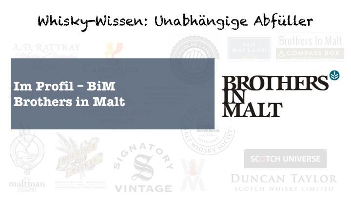 Unabhängiger Abfüller Brothers in Malt