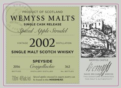 Wemyss Label Apfelstrudel