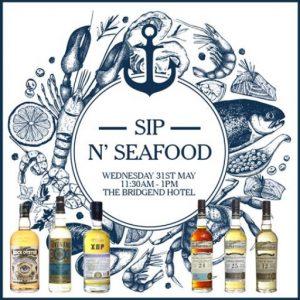Sip 'n seafood