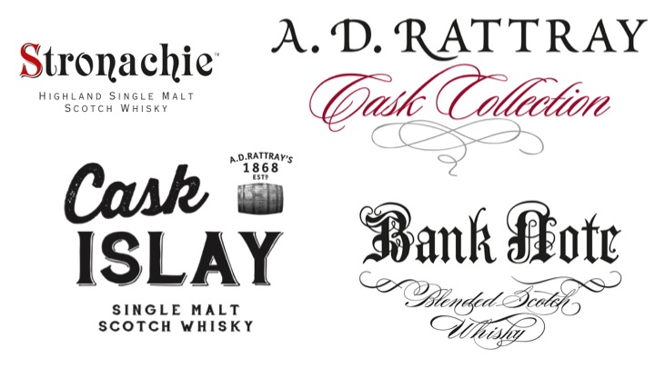 Labels der Range A.D. Rattray