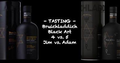 Bruichladdich Black Art 4 versus 5