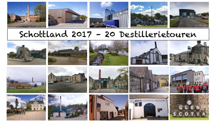 Schottland Roadtrip 2017 – 20 Destillerietouren in 14 Tagen