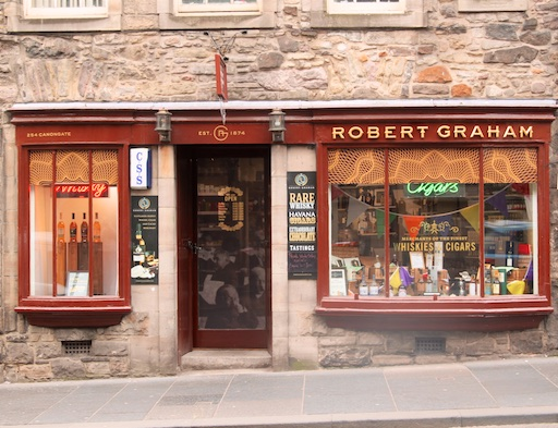 HQ von Robert Graham in Edinburgh