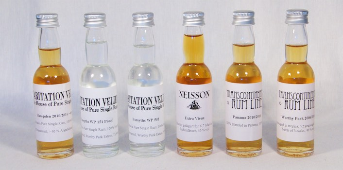 Tasting Rum