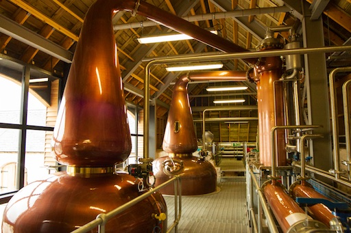 Ncnean distillery Pot Stills