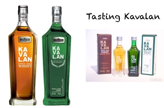 Tasting Kavalan