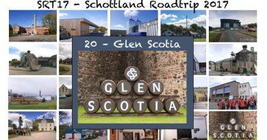 SRT17 Destilleriebesuch bei Glen Scotia
