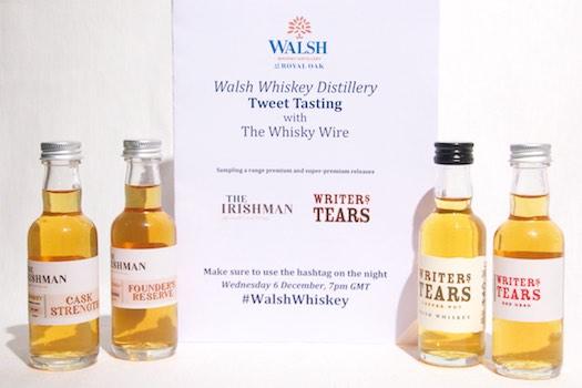 Twitter Tasting #WalshWhiskey