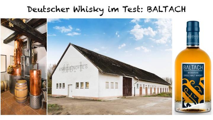 Baltach - Deutscher Whisky aus Wismar