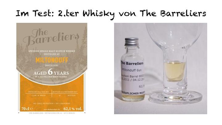 Miltonduff von Barreliers