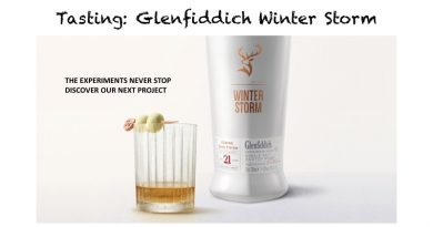 Tasting Glenfiddich Winter Storm