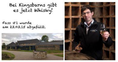 Kingsbarns erster Whisky