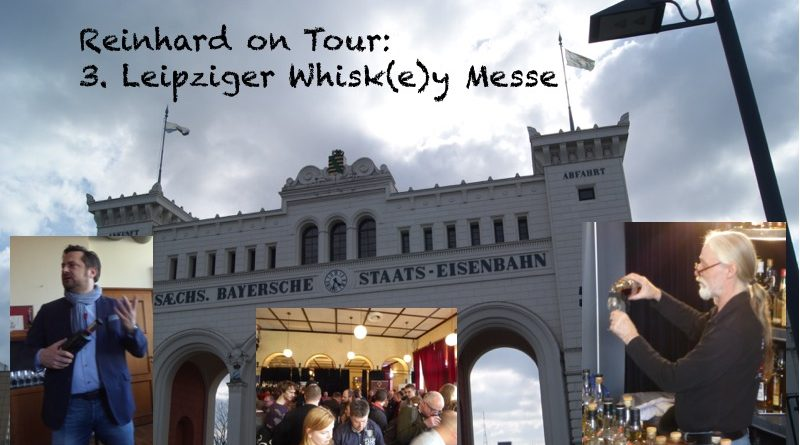 Reinhard on Tour - Leipziger Whiskymesse 2018