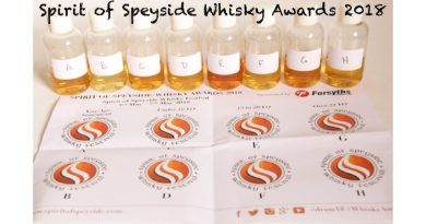 Spirit of Speyside Whisky Awards 2018
