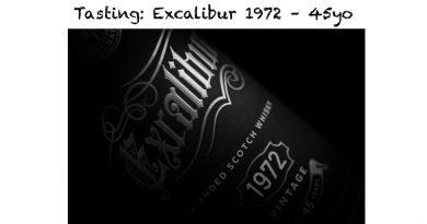 Tasting Excalibur 1972