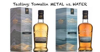 Tomatin METAL vs. WATER im Tasting