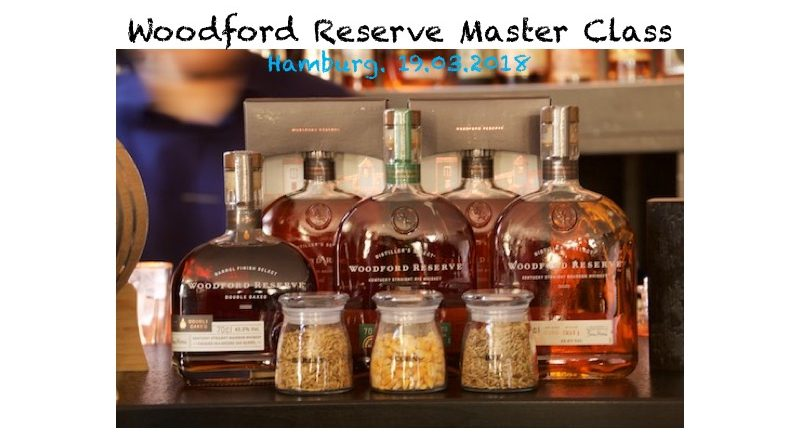 Woodford Reserve Master Class 2018 in Hamburg