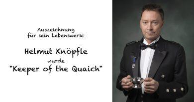 Helmut Knöpfle wurde Keeper