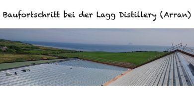 Baufortschritt Lagg Distillery