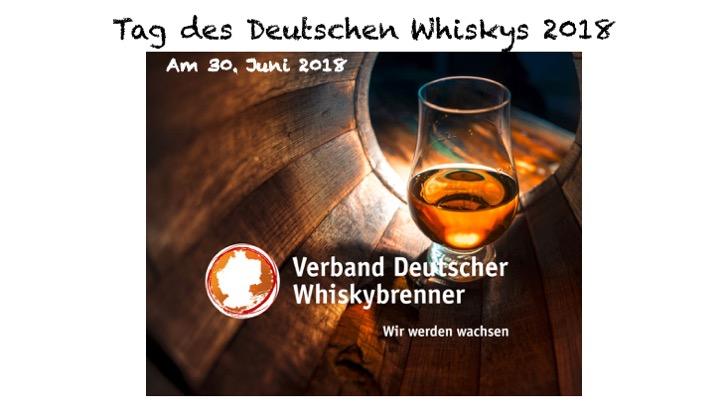 Tag Deutscher Whisky 2018