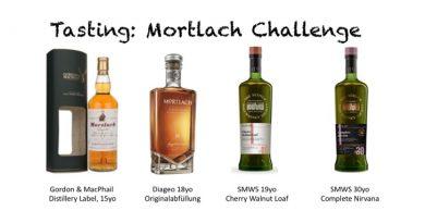 Mortlach im Vergleich