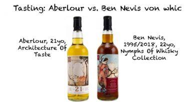 Tasting whic Aberlour Ben Nevis