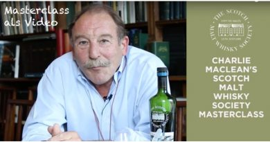 SMWS Masterclass mit Charles MacLean