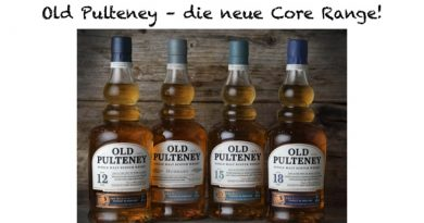 Old Pulteney - neue Core Range