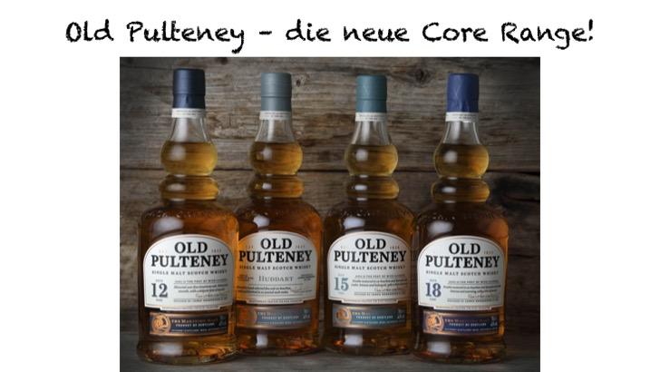 Old Pulteney - neue Core Range