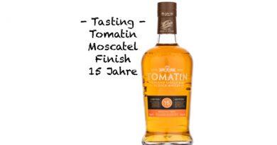 Tasting: Tomatin Moscatel