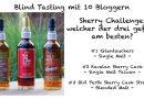 Blind Tasting: 10 Blogger stellen sich der Sherry Challenge