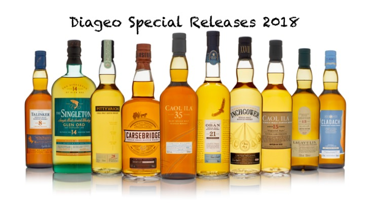 Diageo Special Release (SR) 2018